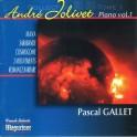 Jolivet : Musique pour piano vol.1