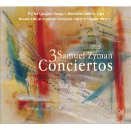 Zyman, Samuel : 3 Conciertos