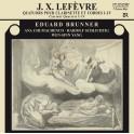 Lefèvre, Jean Xavier : Quatuors pour Clarinette et Cordes n°1 à 4