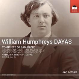 Humphreys Dayas, William : Intégrale de l'Oeuvre pour orgue