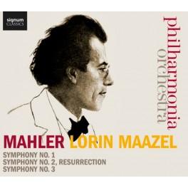 Mahler, Gustav : Symphonies n°1, n°2, n°3