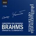 Brahms : Symphonies n°1 et n°3