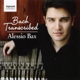 Transcriptions d'oeuvres de Bach / Alessio Bax