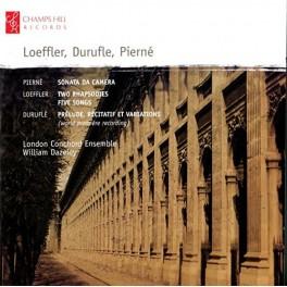 Pierné, Loeffler, Duruflé : Musique de Chambre
