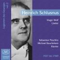 Les Chanteurs Légendaires Vol.2 / Heinrich Schlusnus