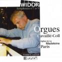 Widor : Symphonies n°7 et n°9 / Frédéric Ledroit