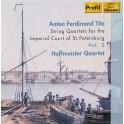 Titz : Quatuors à cordes pour la Cour Impérial de Saint Pétersbourg Vol.2