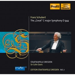 Edition Staatskapelle Dresden Vol.7 : Sir Colin Davis / Schubert