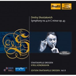 Edition Staatskapelle Dresden Vol.8 : Kyrill Kondrashin / Chostakovitch