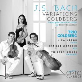Bach : Variations Goldberg pour Trio à cordes