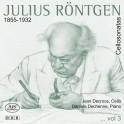 Röntgen, Julius : Sonates pour violoncelle Vol.3