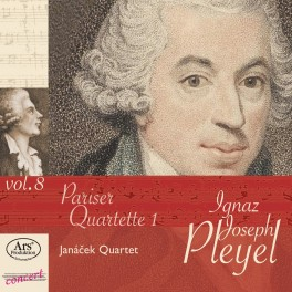 Édition Ignaz Joseph Pleyel Vol.8 - Quatuors Parisiens 1
