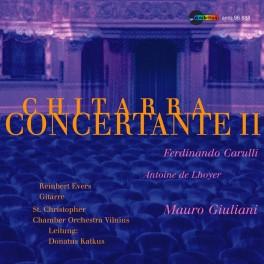Chitarra Concertante II, Concertos pour guitare