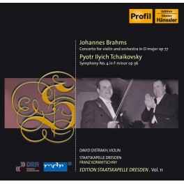 Edition Staatskapelle Dresden Vol.11 : Franz Konwitschny / Brahms & Tchaikovsky