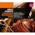 Enregistrements Légendaires : Les Grands Pianistes