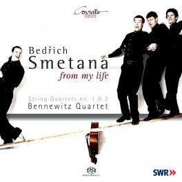 Smetana : From my life, Quatuors à cordes n°1 et n°2