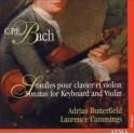 Bach, C-P-E : Sonates pour clavier et violon