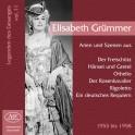Les Chanteurs Légendaires Vol.11 / Elisabeth Grümmer