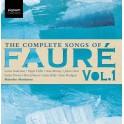 Fauré : Intégrale des Mélodies Vol.1
