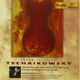 Tchaïkovski : Concerto Op.35, Sérénade Op.48