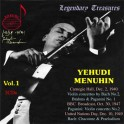 The Yehudi Menuhin Collection Vol.1