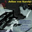 Julian von Karolyi Vol.2 / Beethoven - Bach - Schubert