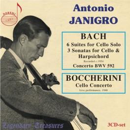 Antonio Janigro Vol.1 / Bach - Boccherini