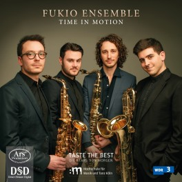 Time In Motion, oeuvres pour quatuor de saxophones