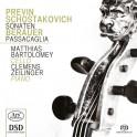 Previn - Chostakovitch - Berauer : Sonates & Passacaglia