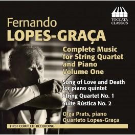 Lopes-Graça : Intégrale de l'Oeuvre pour Quatuor à cordes et piano