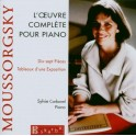 Moussorgski : L'Oeuvre complète pour piano