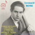 Leonard Rose joue Dvorak, Saint-Saëns, Tchaïkovski, Beethoven et Brahms