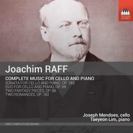 Raff, Joachim : Intégrale de l'Oeuvre pour violoncelle et piano