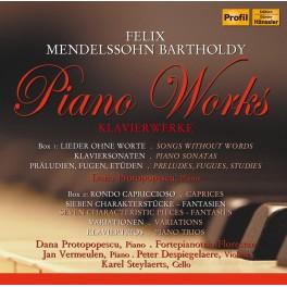 Mendelssohn : Intégrale de l'oeuvre pour piano