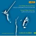 Bach, CPE - Telemann : Concerto pour violoncelle, Suite