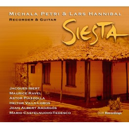 Siesta, oeuvres pour flûte et guitare