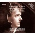 Hahn, Reynaldo : Concerto pour violon, Sonate pour violon