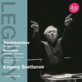 Rachmaninoff - Bernstein : Symphonie n°2, Ouverture de Candide / Evgeny Svetlanov