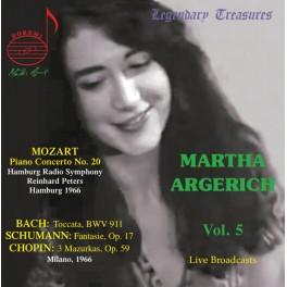 Martha Argerich Vol.5 / Mozart - Bach - Schumann - Chopin