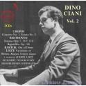 Dino Ciani Vol.2 / Chopin - Beethoven - Bartok - Liszt ...