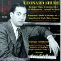 Brahms - Beethoven : Concertos pour piano / Leonard Shure