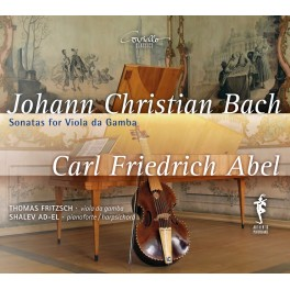 Abel - Bach, J-C : Sonates pour Viole de Gambe