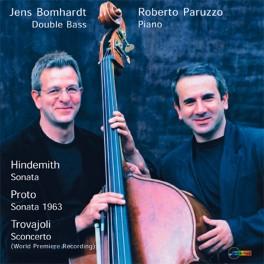 Hindemith - Proto - Trovajoli : Sonates pour contrebasse et piano
