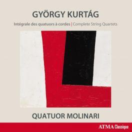 Kurtag : Intégrale des Quatuors à cordes