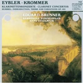 Eybler - Krommer : Concertos pour clarinette