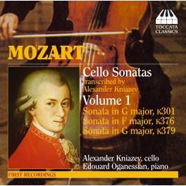 Mozart : Sonates pour violoncelle et piano - Vol.1
