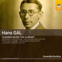 Gal : Intégrale de la Musique de Chambre pour Clarinette