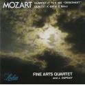 Mozart : Quatuor n°19, Quintette KV.406