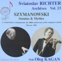 Szymanowski : Sonates et Mythes - Les Archives Sviatoslav Richter Vol.23