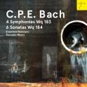 Bach, C-P-E : 4 Symphonies Wq.183 & 6 Sonates Wq.184
